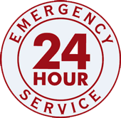 24 hour flood service