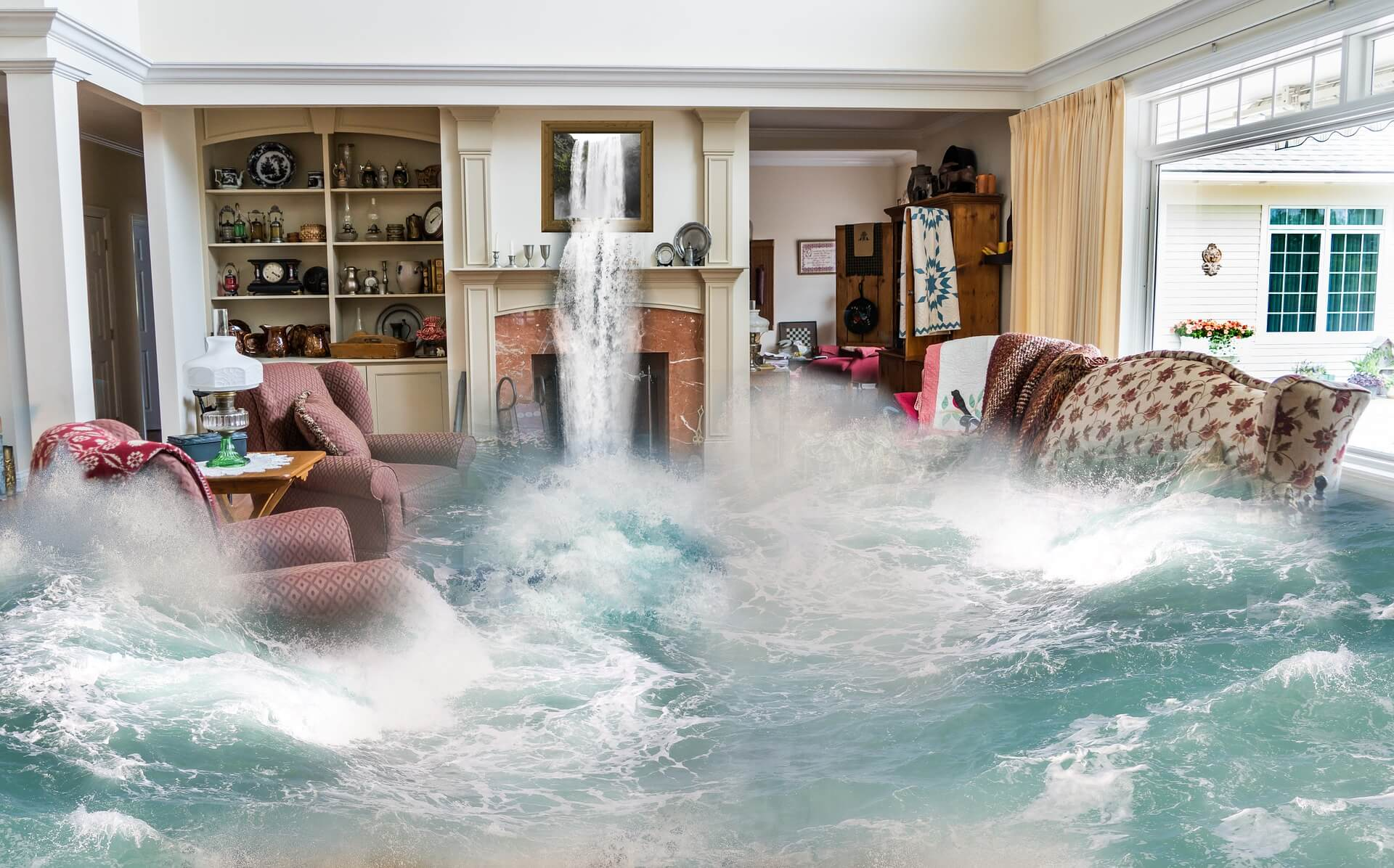 Affordable Flood Services 888-349-2564 Water Damage Repair